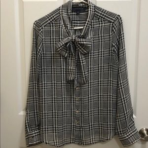 Tommy Hilfiger neck scarf blouse